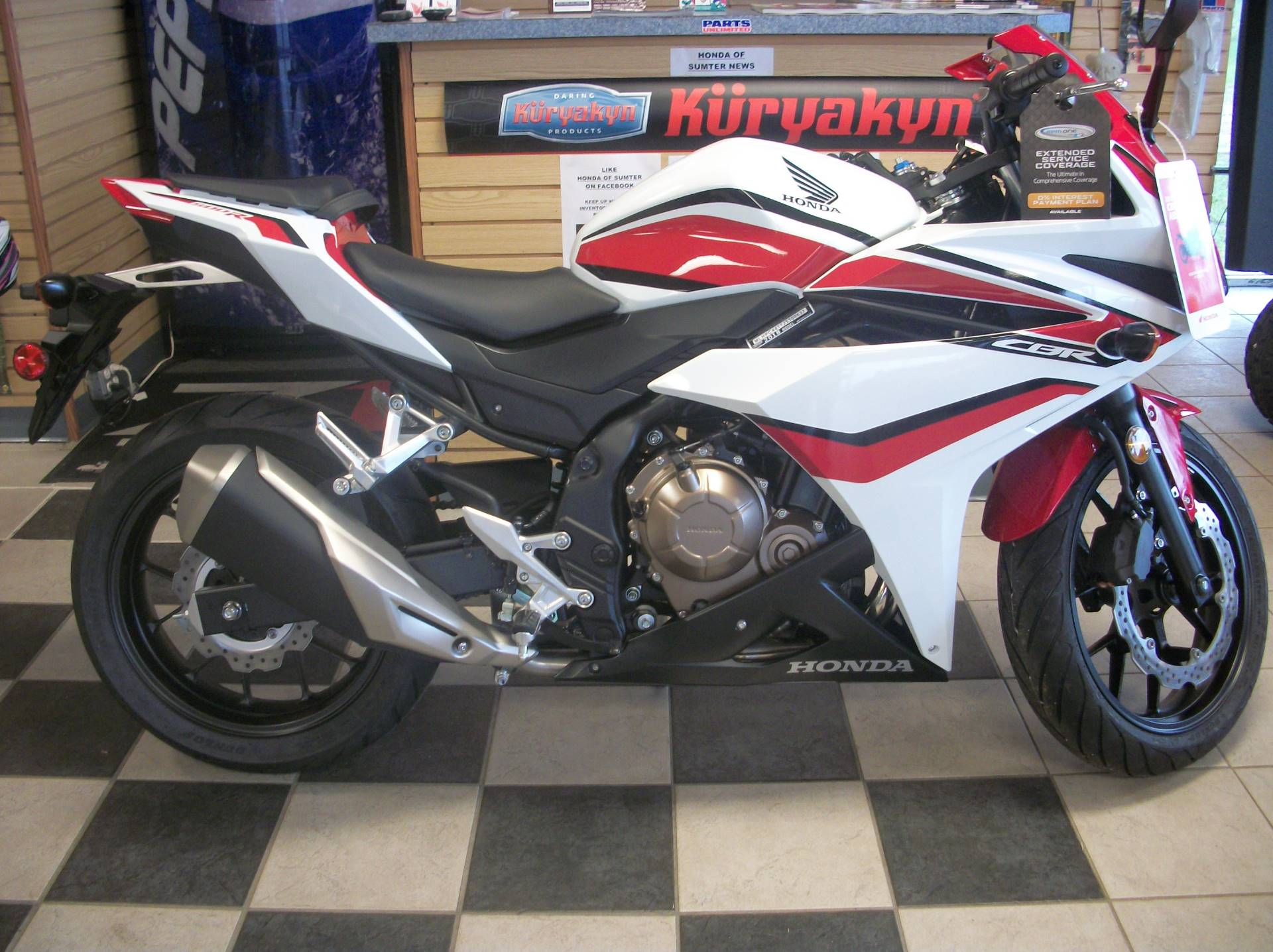 2018 Honda CBR500R in Sumter, South Carolina