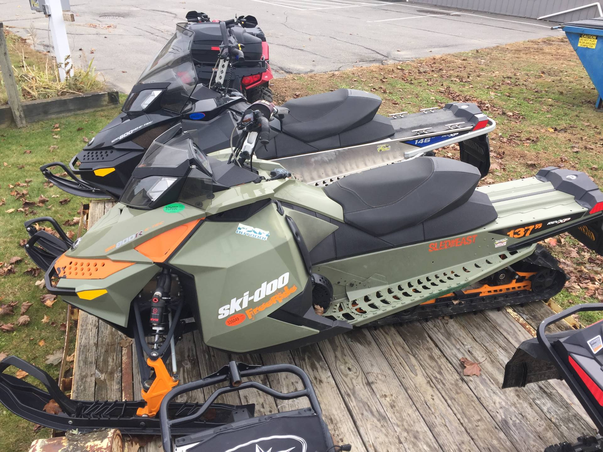 2013 Ski-Doo Freeride™ 137 E.S. in Unity, Maine