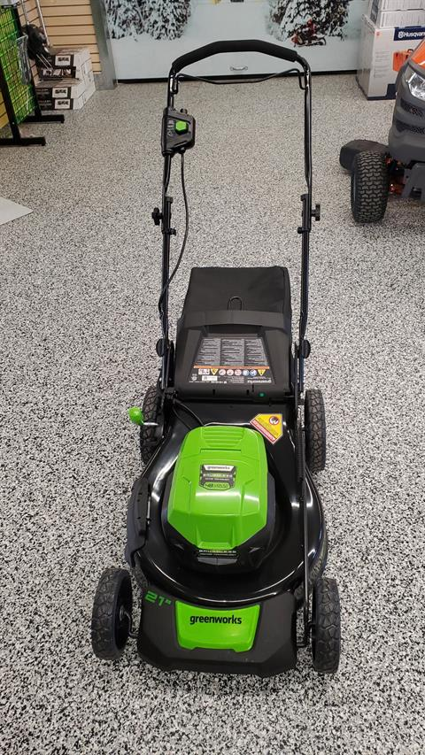 "Steven Willand Inc. LME456 48v 21"" Brushless Push Mower in Unity, Maine - Photo 1"