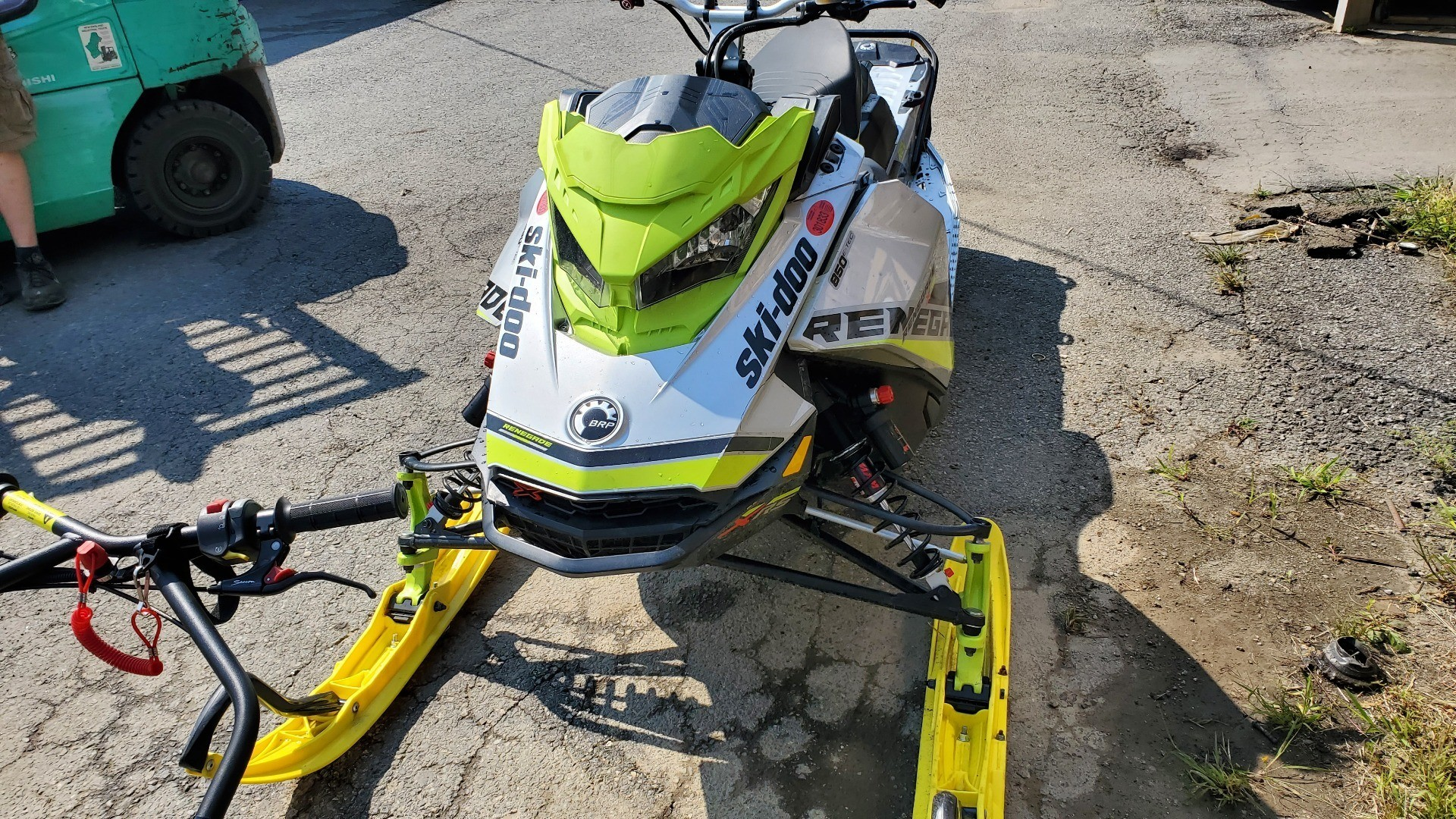 2018 Ski-Doo Renegade X-RS 850 E-TEC ES Ice Cobra 1.6 in Unity, Maine - Photo 1