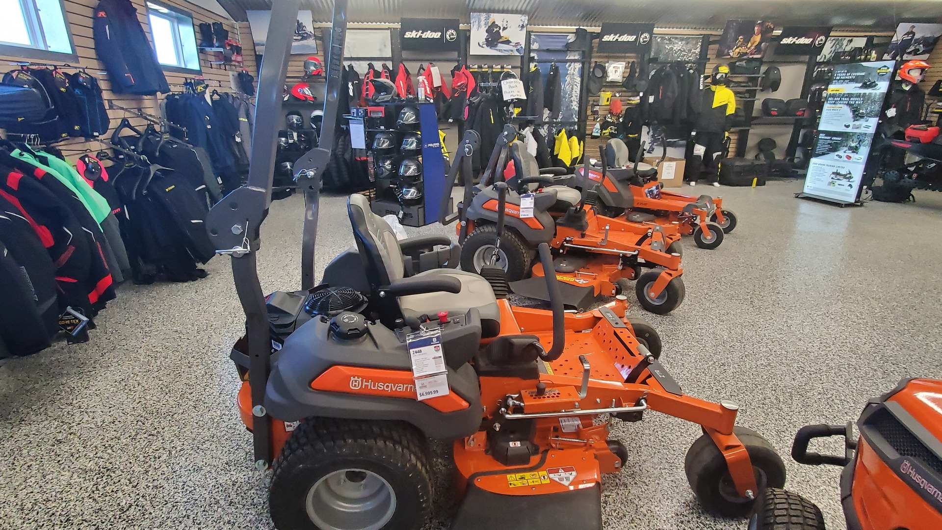 2020 Husqvarna Power Equipment Z448 48 in. Kawasaki FS Series 22 hp in Unity, Maine - Photo 4