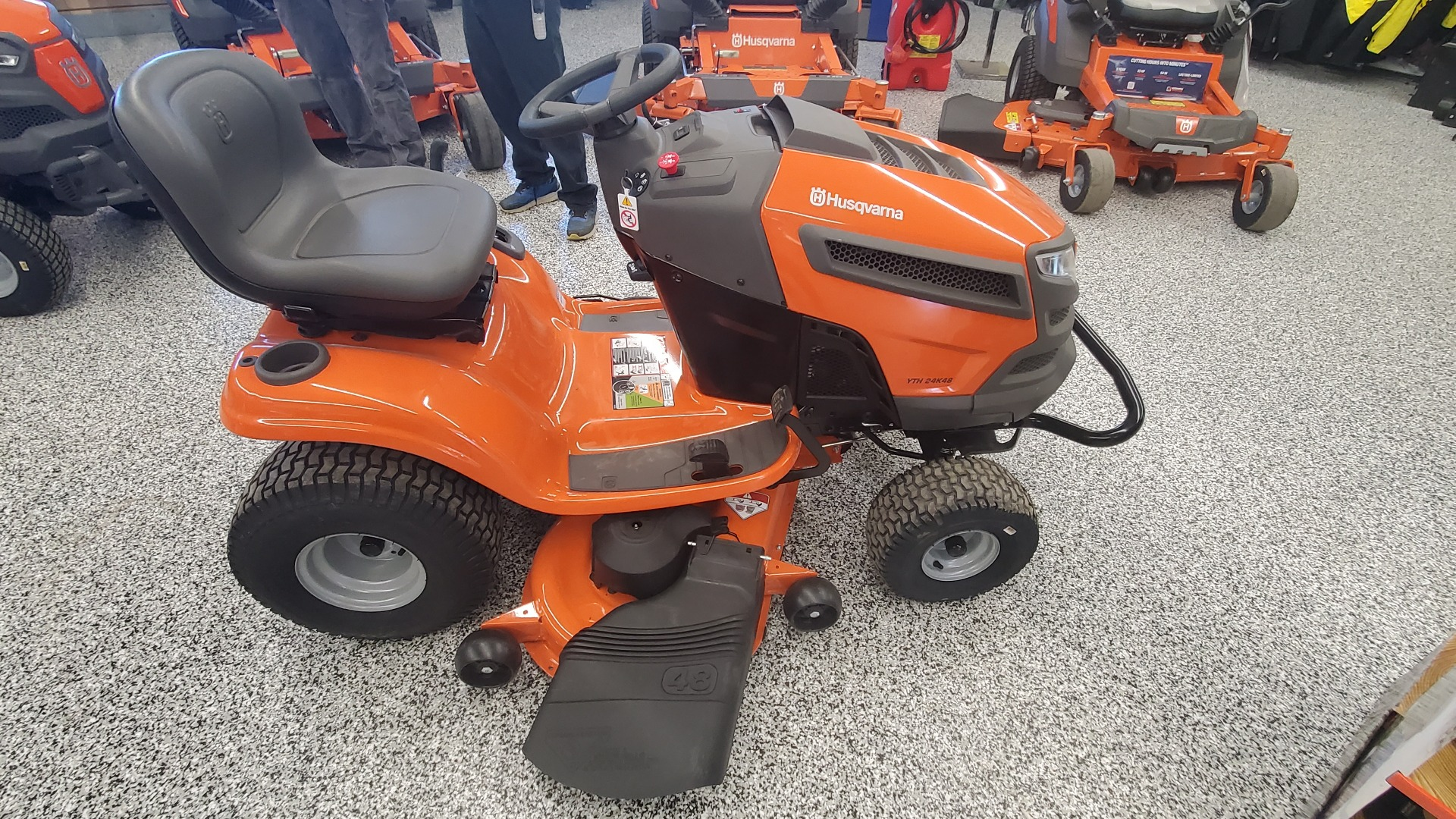 2019 Husqvarna Power Equipment YTH24K48 48 in. Kohler 7000 Series 24 hp in Unity, Maine - Photo 1