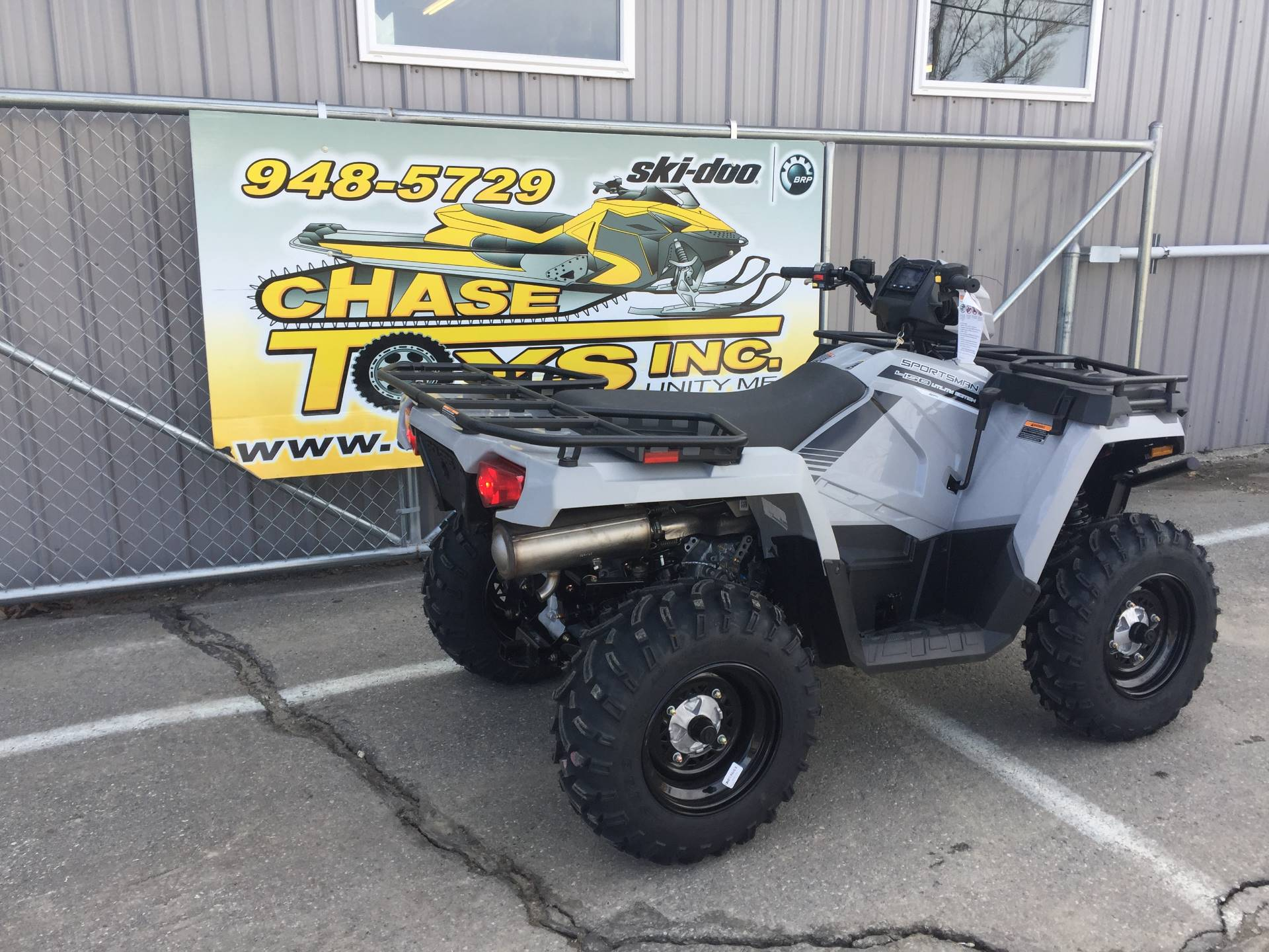 2019 Polaris Sportsman 450 H.O. Utility Edition in Unity, Maine - Photo 2