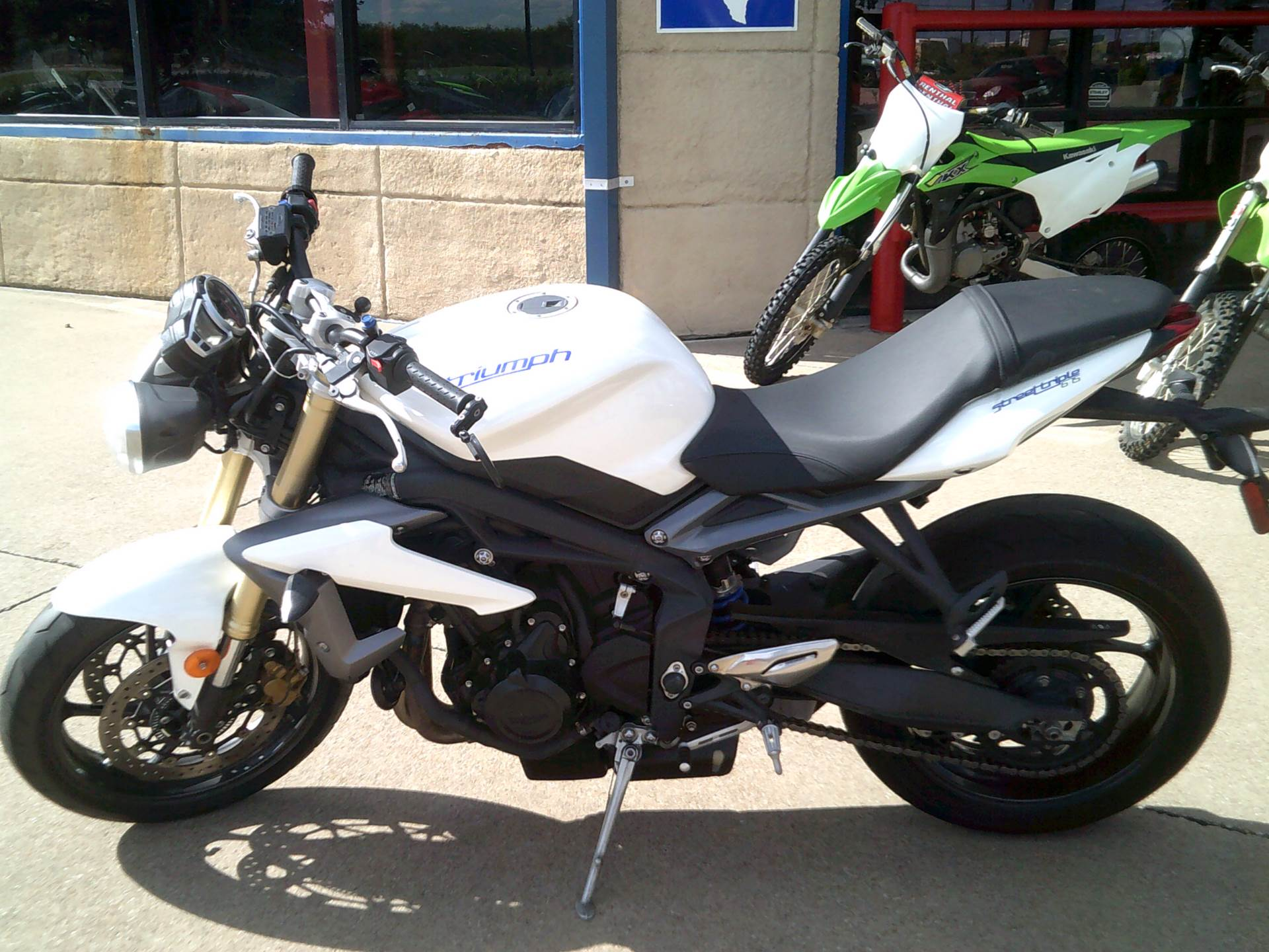 2013 Triumph Street Triple ABS in Burleson, Texas