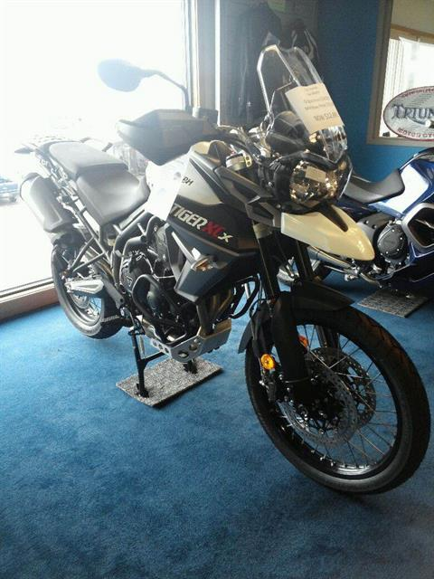 2016 Triumph Tiger 800 XCX in Columbus, Ohio