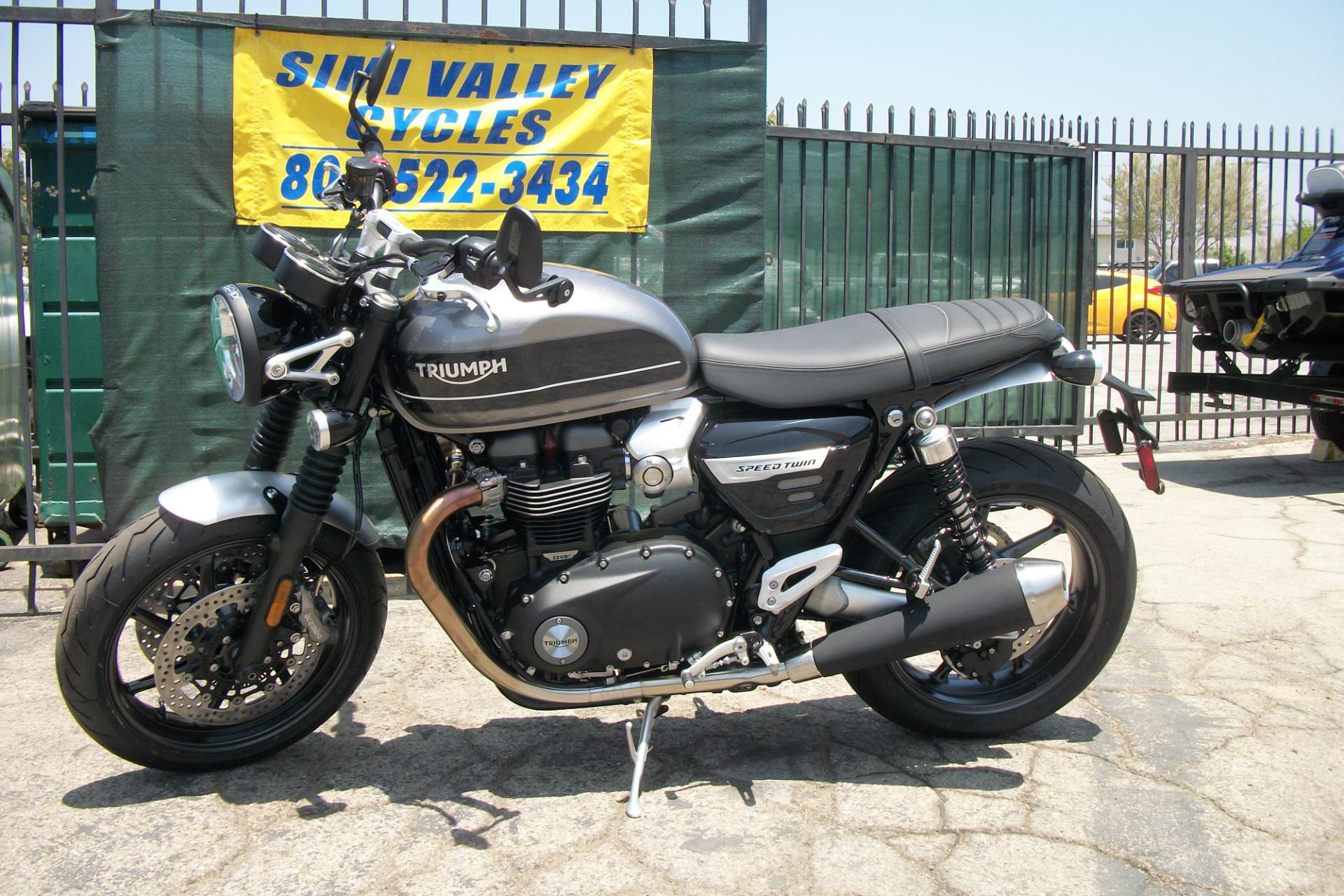 2019 Triumph Bonneville Speed Twin in Simi Valley, California - Photo 1