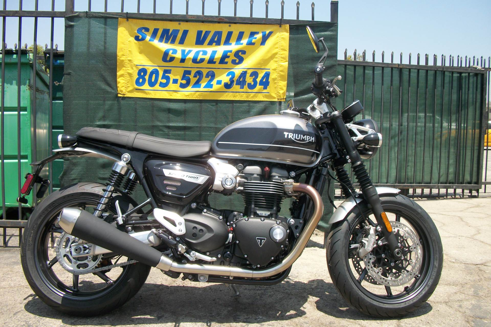 2019 Triumph Bonneville Speed Twin in Simi Valley, California - Photo 2