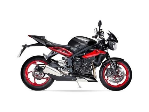 2016 Triumph Street Triple Rx ABS in Simi Valley, California