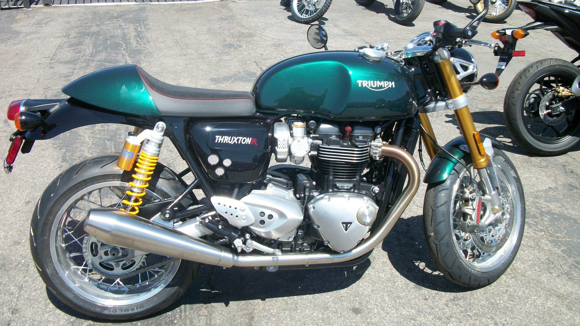 2019 Triumph Thruxton 1200 R in Simi Valley, California - Photo 2
