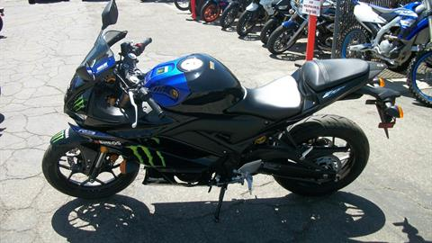 2020 Yamaha YZF-R3 ABS Monster Energy Yamaha MotoGP Edition in Simi Valley, California - Photo 1