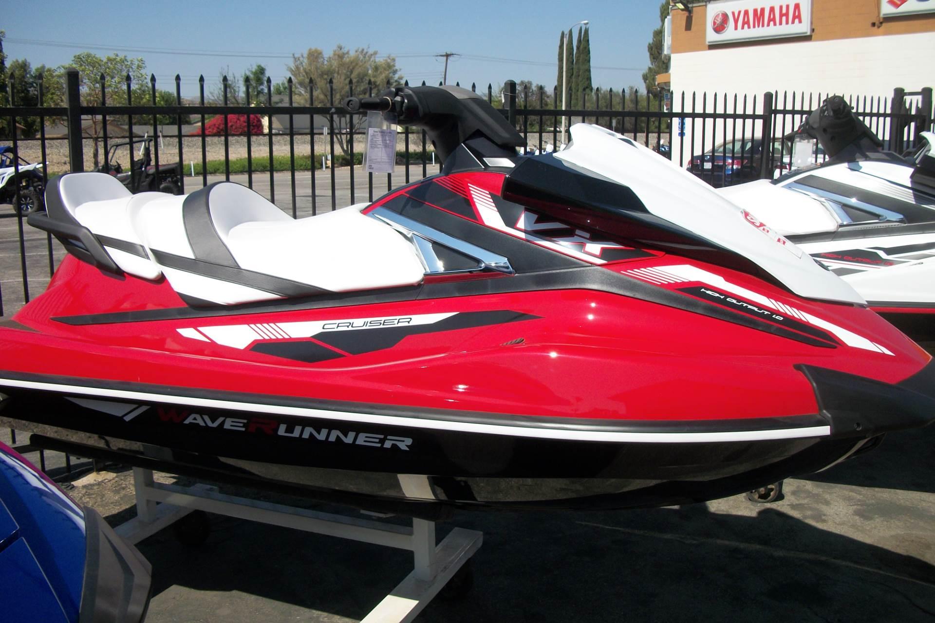 New 2018 Yamaha VX Cruiser Watercraft in Simi Valley CA