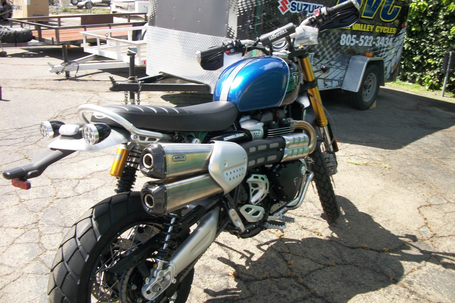 2019 Triumph Scrambler 1200 XE in Simi Valley, California - Photo 2