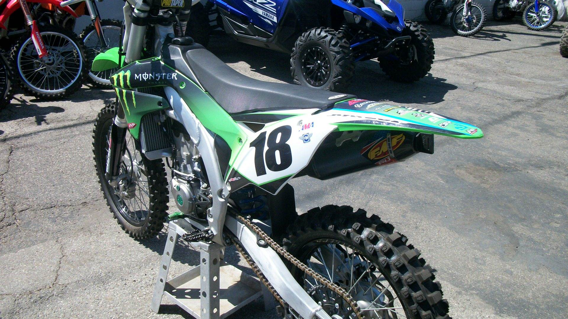 2017 Kawasaki KX450F in Simi Valley, California - Photo 5