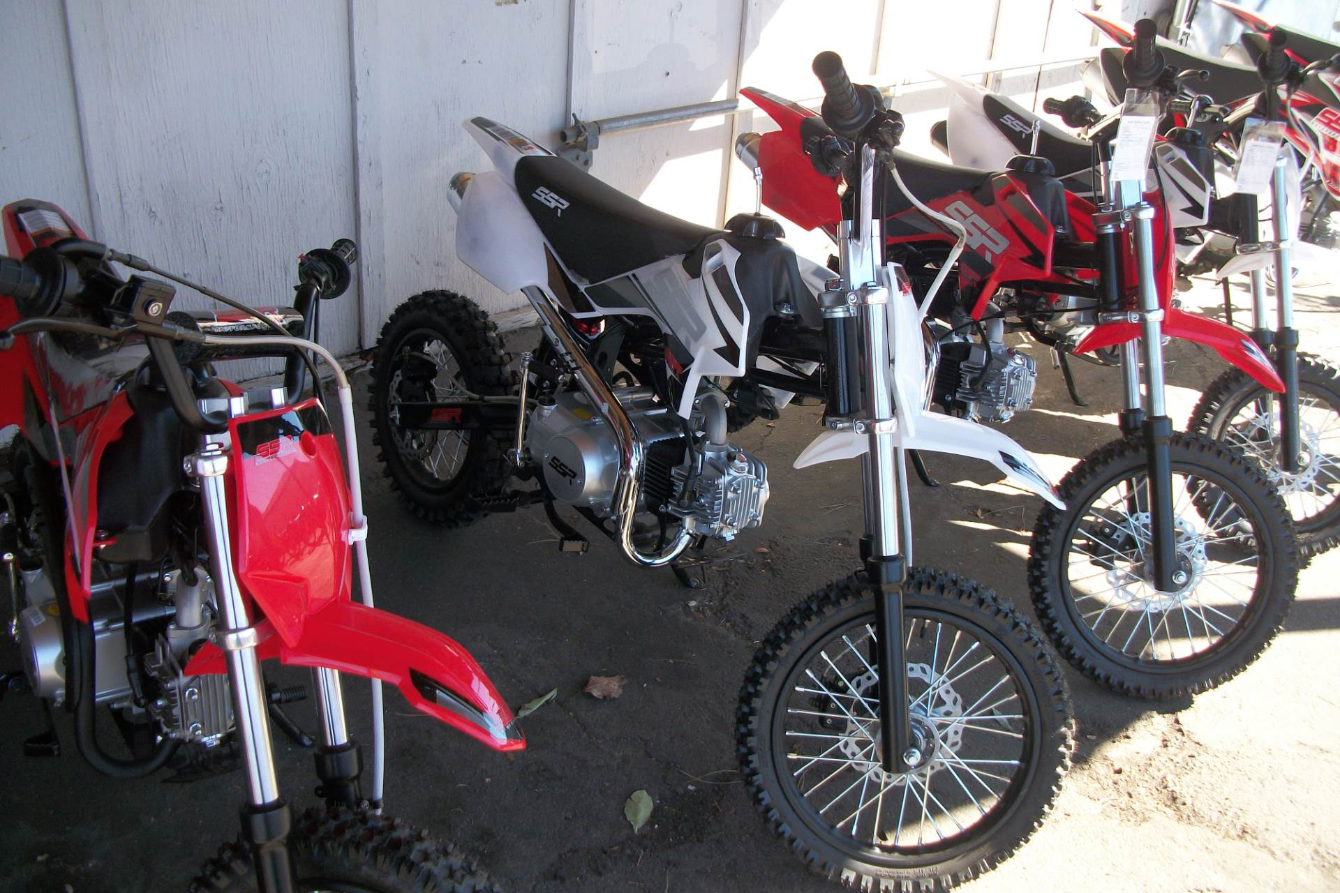 2019 SSR Motorsports SR125TR - BW in Simi Valley, California - Photo 1