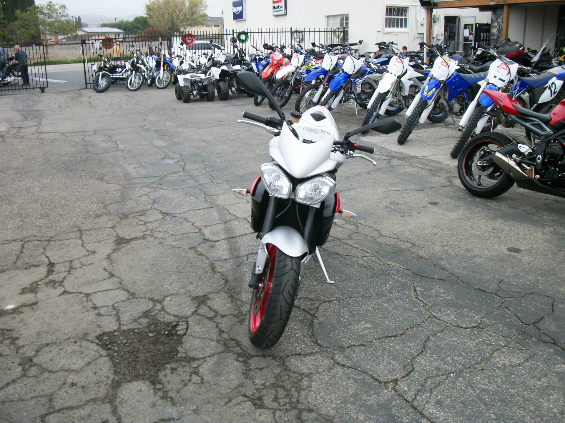 2016 Triumph Street Triple Rx ABS in Simi Valley, California - Photo 4