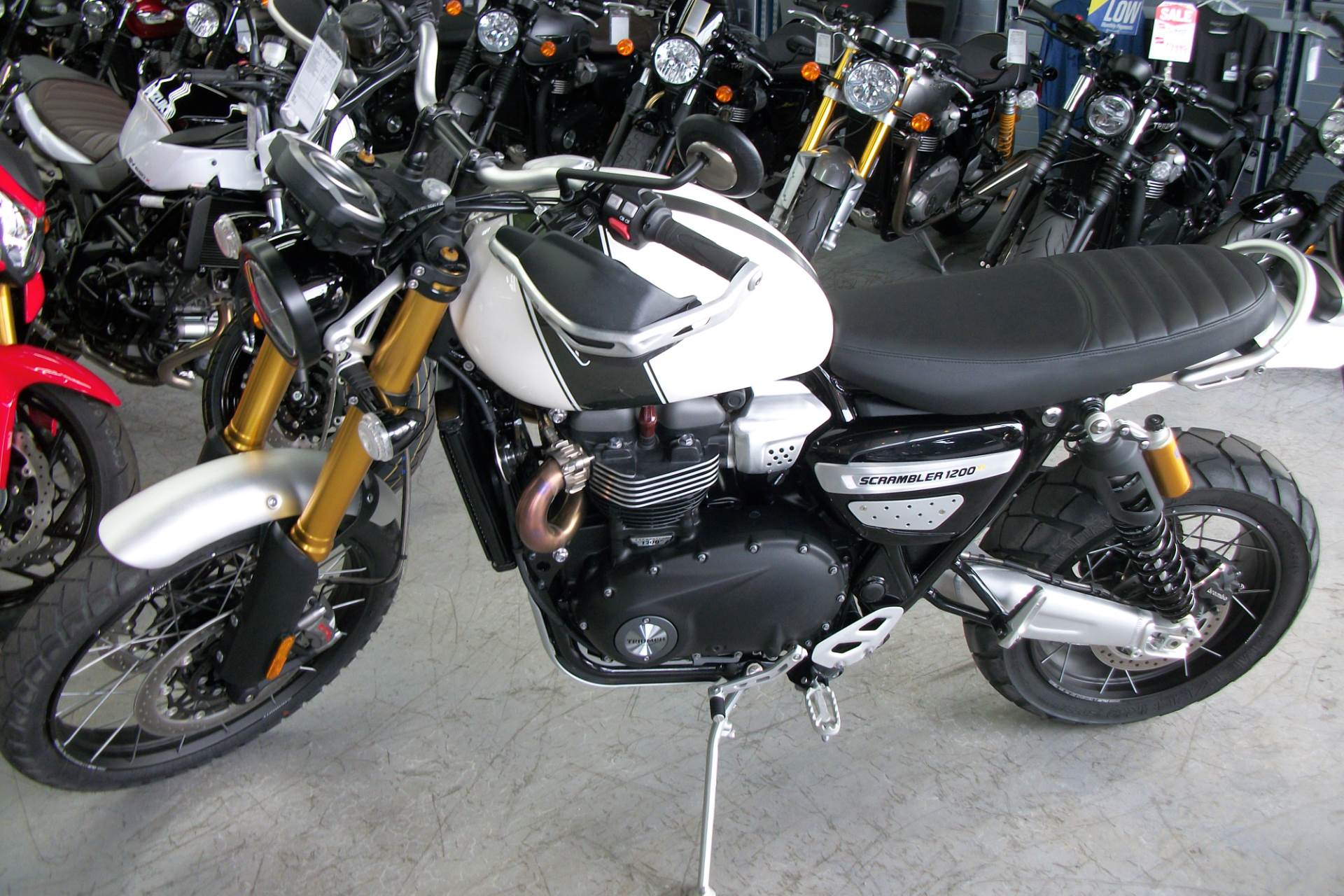 New 2019 Triumph Scrambler 1200 Xe Motorcycles In Simi Valley Ca