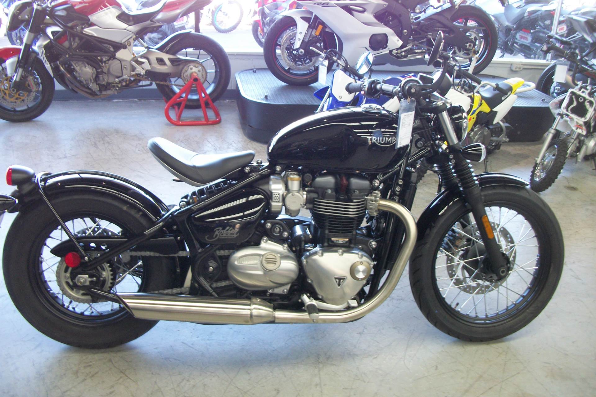 New 2019 Triumph Bonneville Bobber Motorcycles In Simi Valley Ca