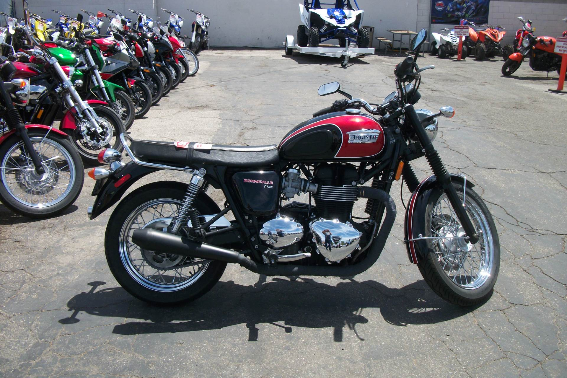 Used 2014 Triumph Bonneville T100 Motorcycles in Simi Valley, CA