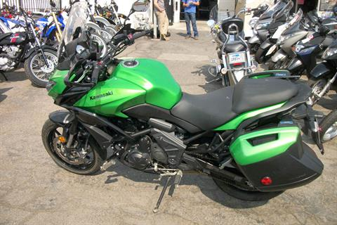 2015 Kawasaki Versys® 650 LT in Simi Valley, California