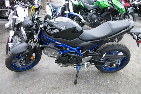 2019 Suzuki SV650 ABS in Simi Valley, California - Photo 1
