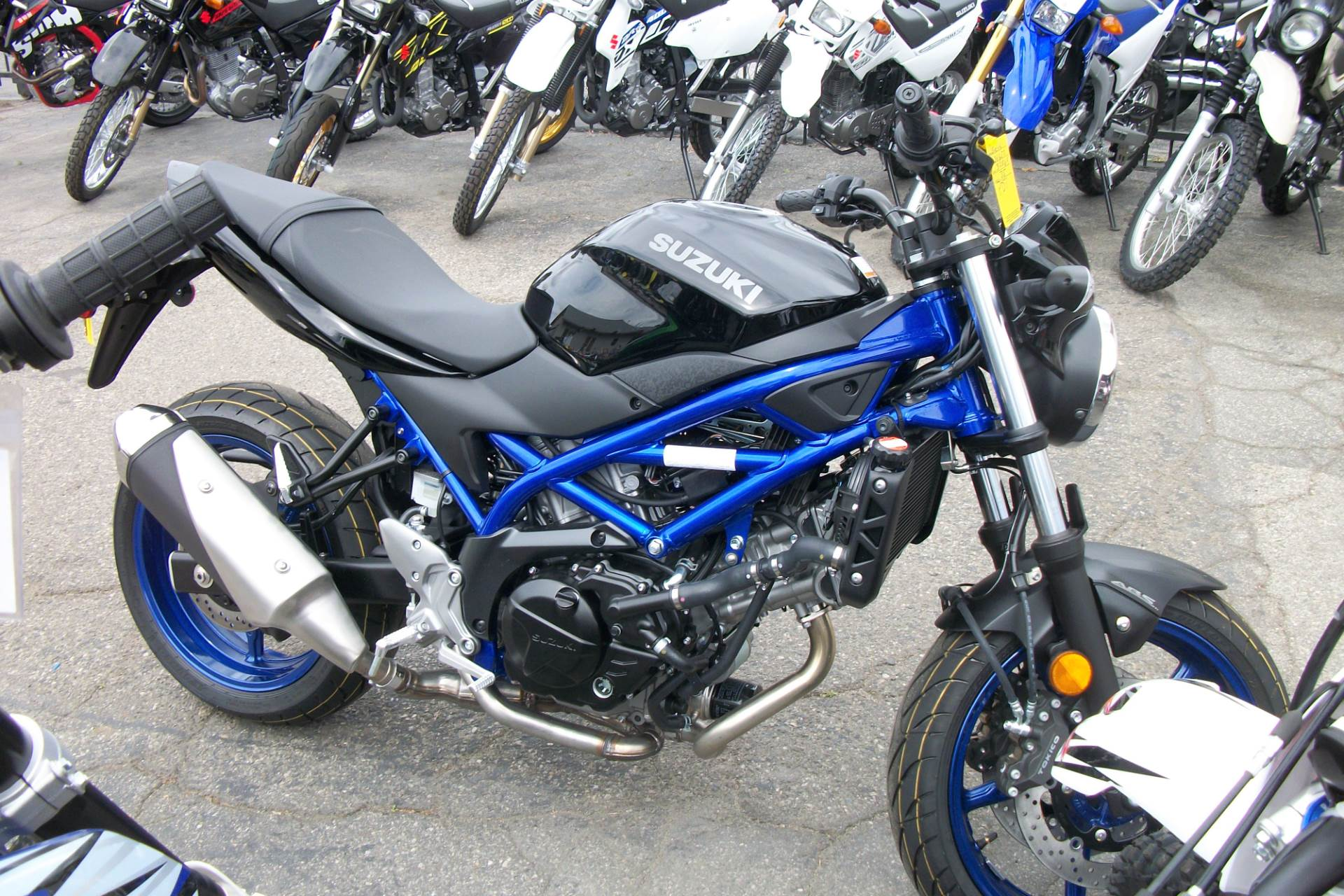 2019 Suzuki SV650 ABS in Simi Valley, California - Photo 3