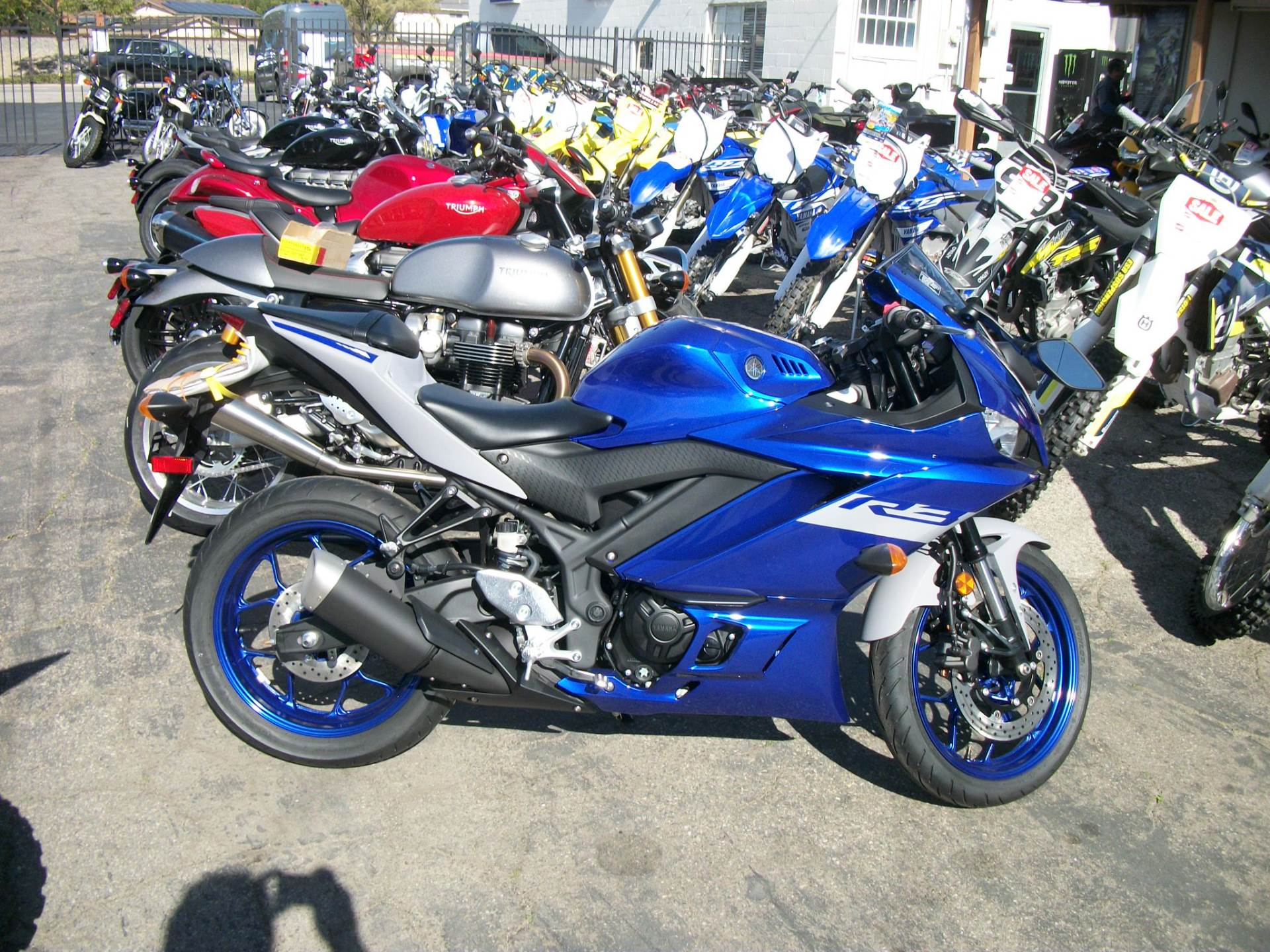 2020 Yamaha YZF-R3 in Simi Valley, California - Photo 1