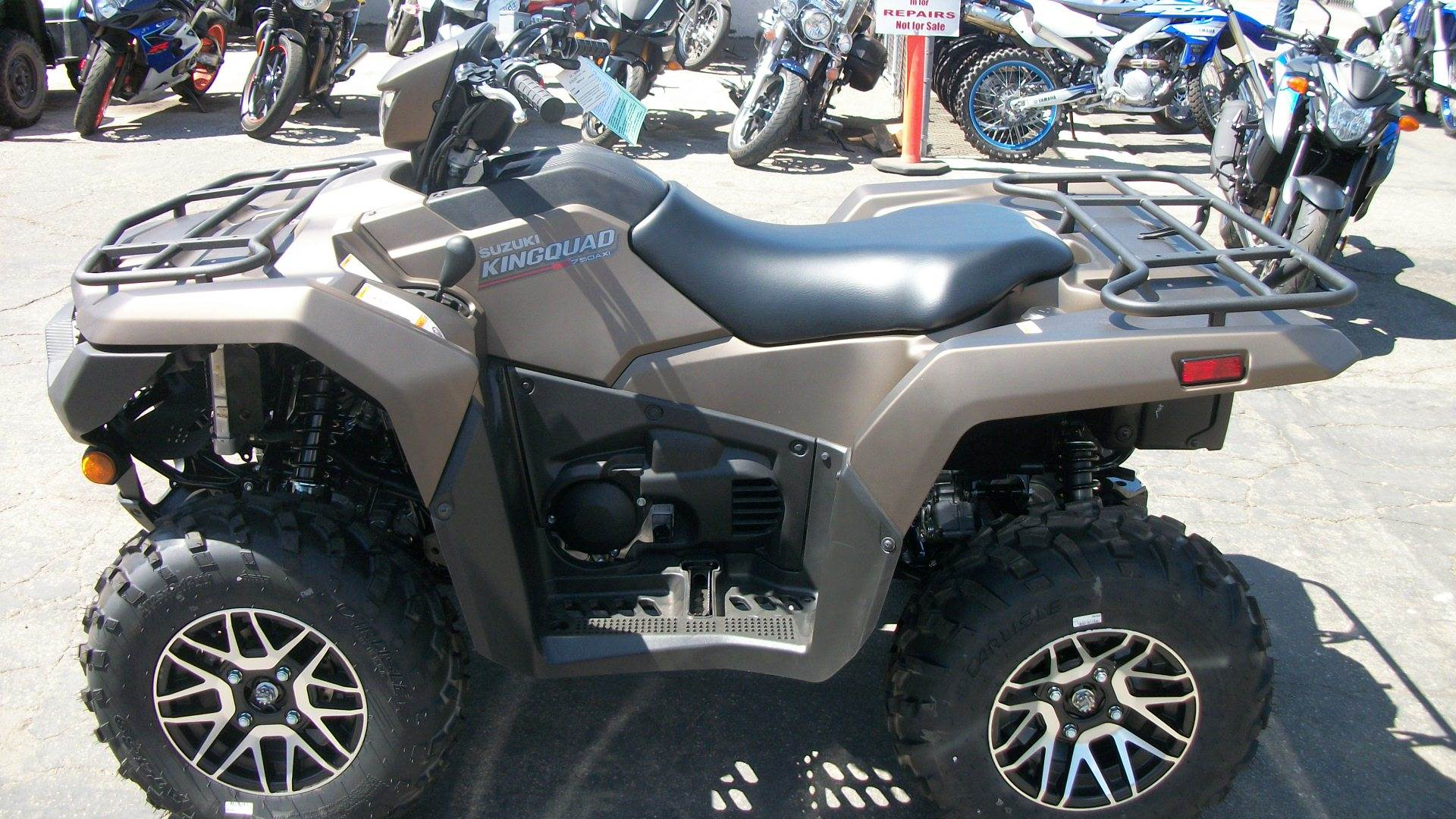 2019 Suzuki KingQuad 750AXi Power Steering SE+ in Simi Valley, California - Photo 3