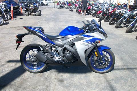 2015 Yamaha YZF-R3 in Simi Valley, California