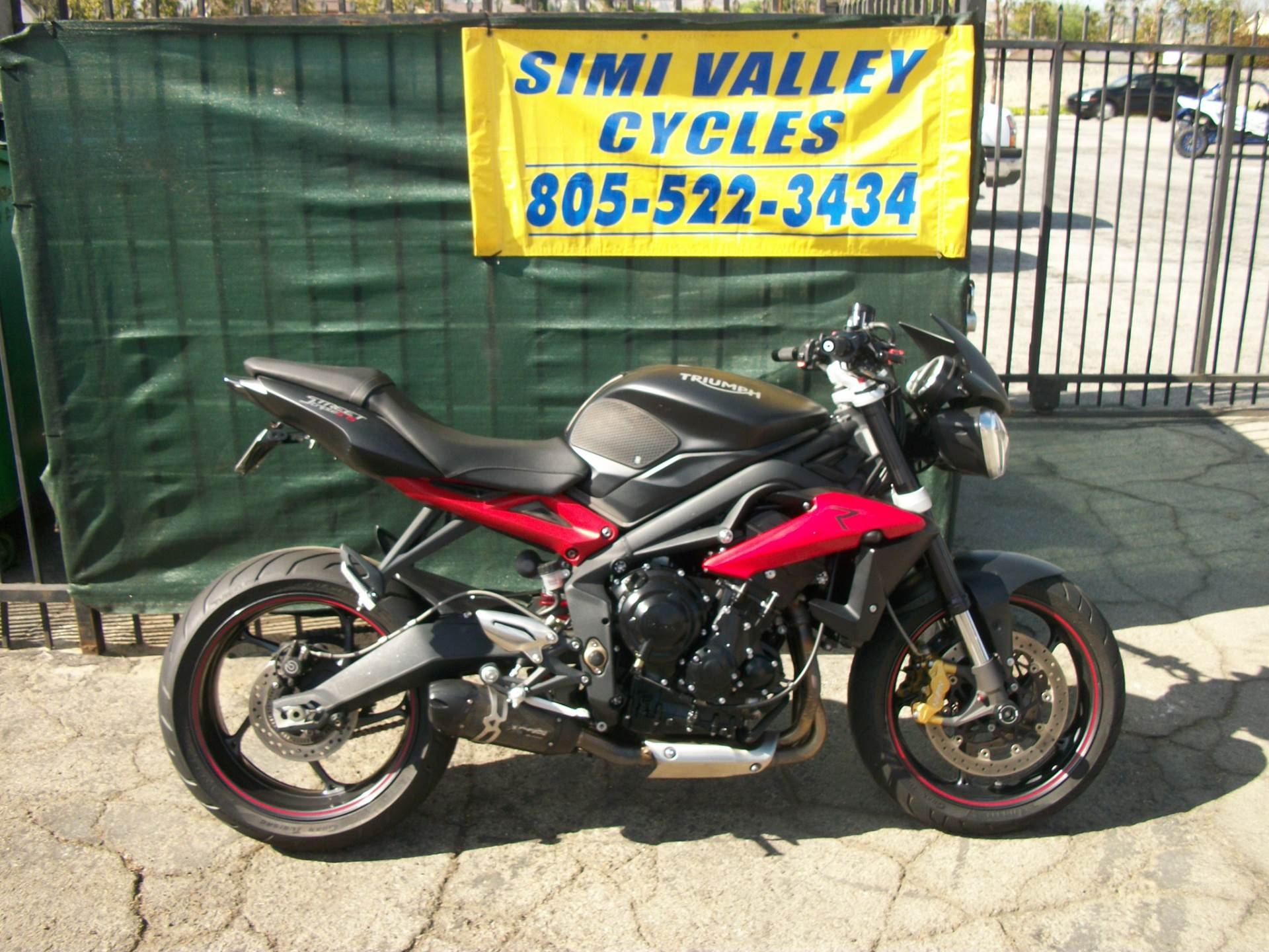Used 2016 Triumph Street Triple R Abs Motorcycles In Simi Valley Ca