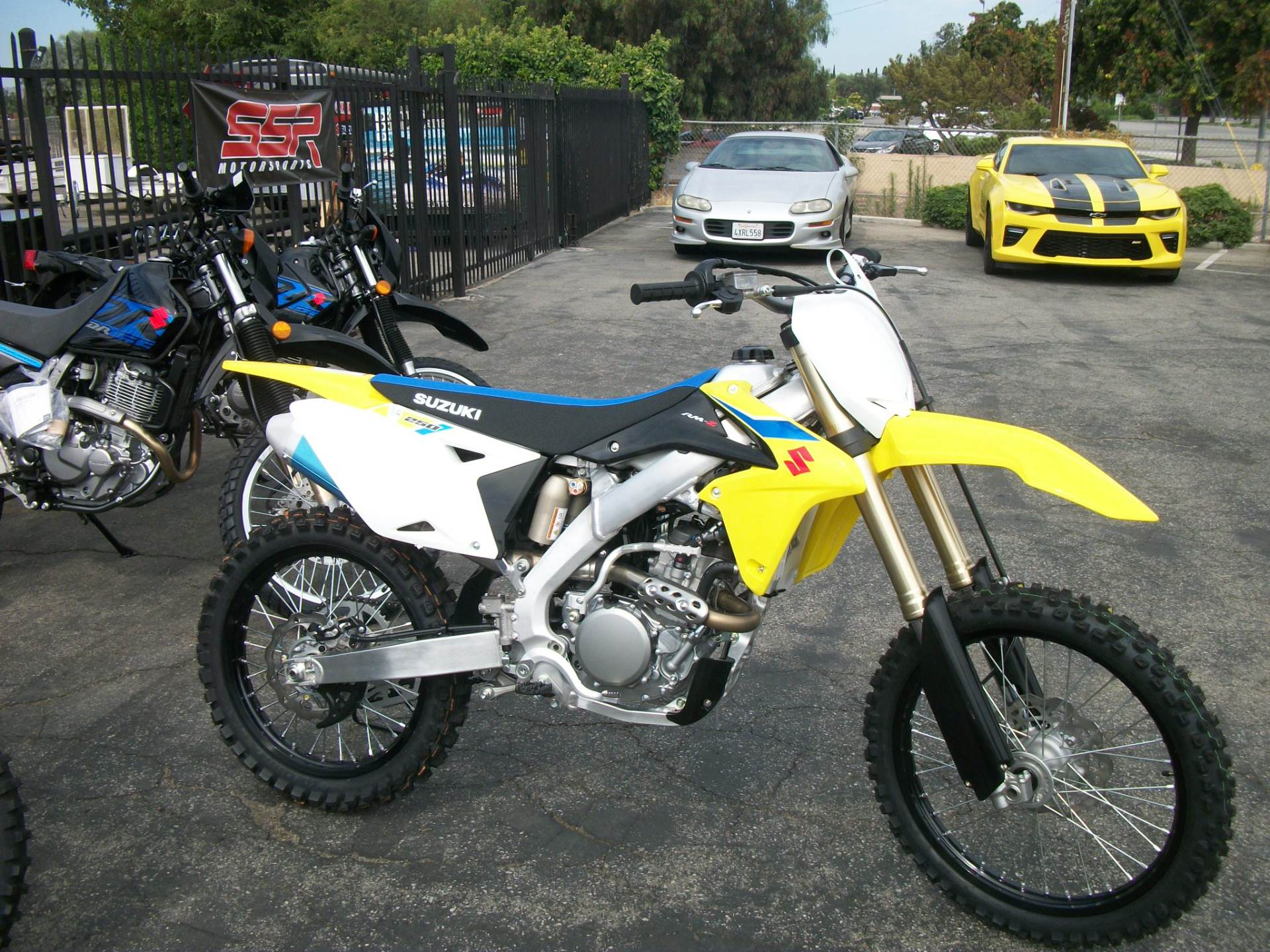 2018 Suzuki RM-Z250 in Simi Valley, California