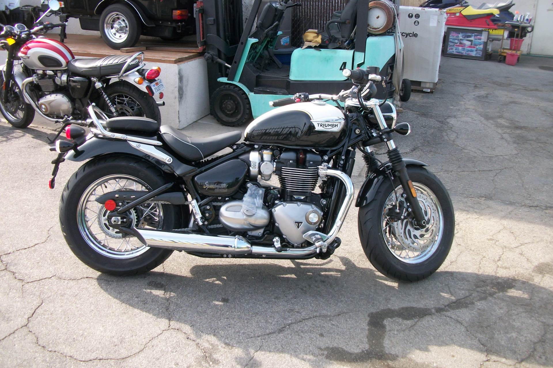 New 2018 Triumph Bonneville Speedmaster Motorcycles in Simi Valley, CA