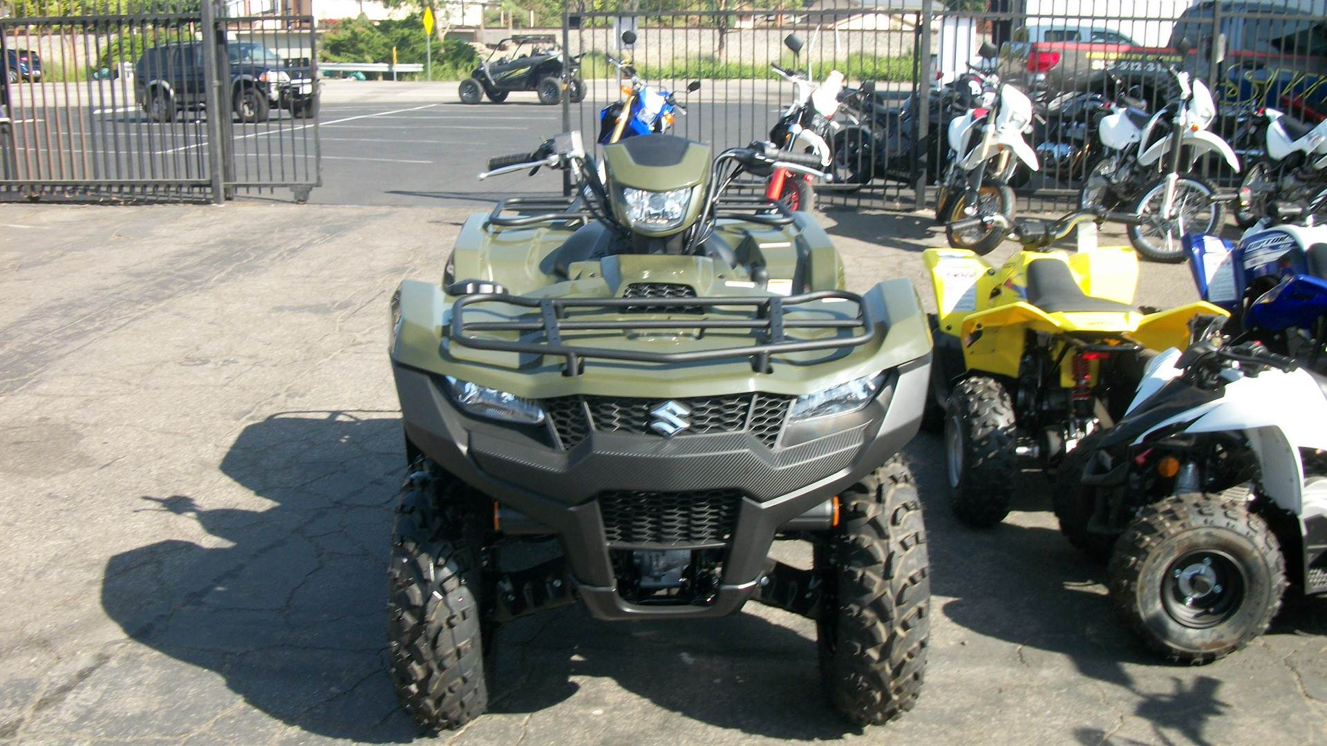 2019 Suzuki KingQuad 500AXi in Simi Valley, California - Photo 4