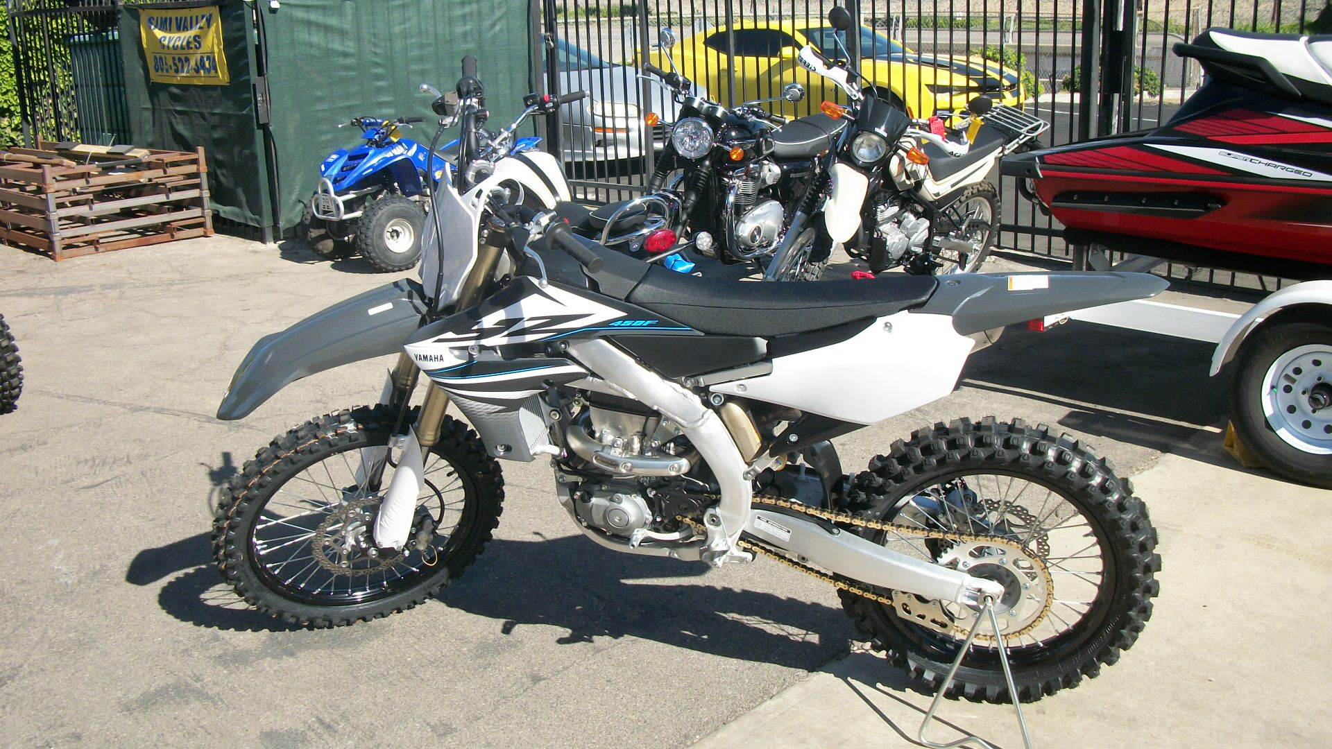 2020 Yamaha YZ450F in Simi Valley, California - Photo 3