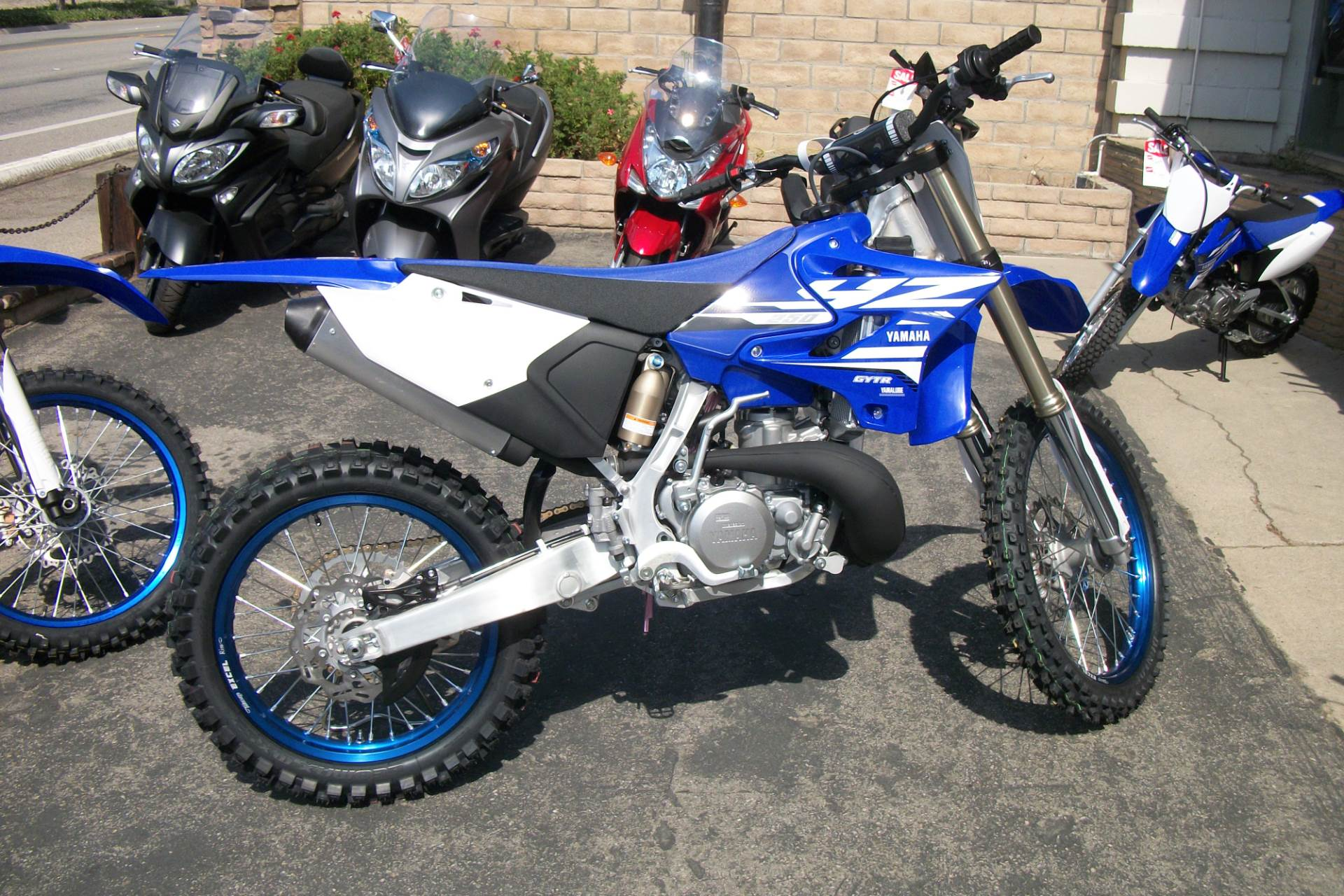 New 2018 yamaha yz250 motorcycles in simi valley ca for 2018 yamaha yz250