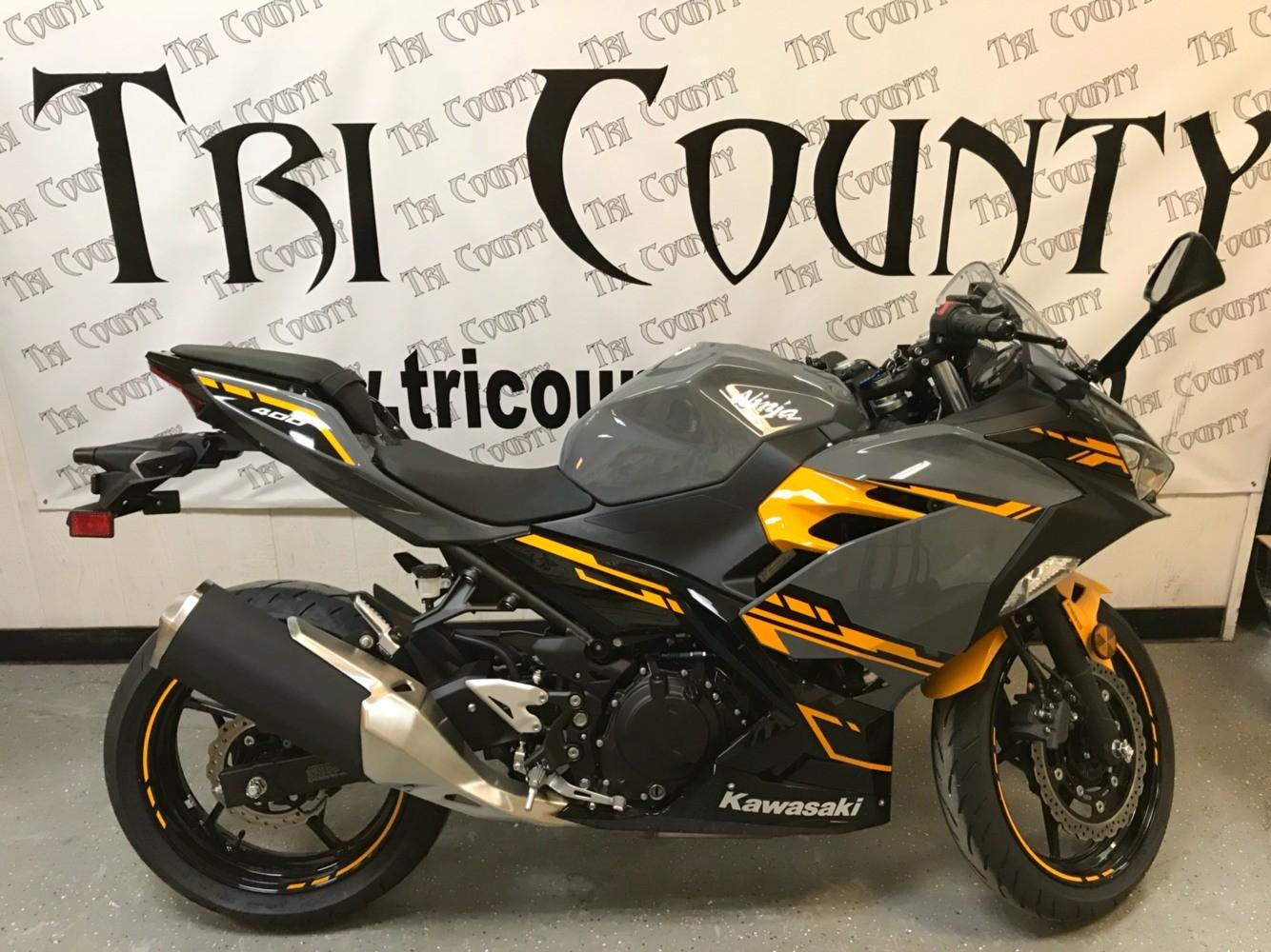 2018 Kawasaki Ninja 400 Abs Motorcycles Petersburg West Virginia