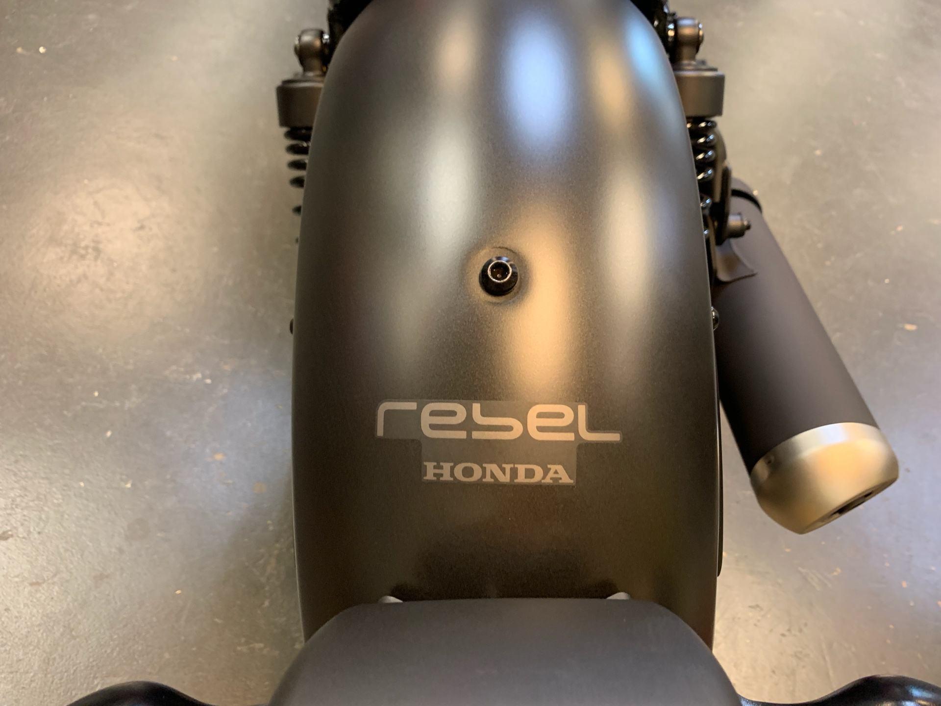 2019 Honda Rebel 300 7