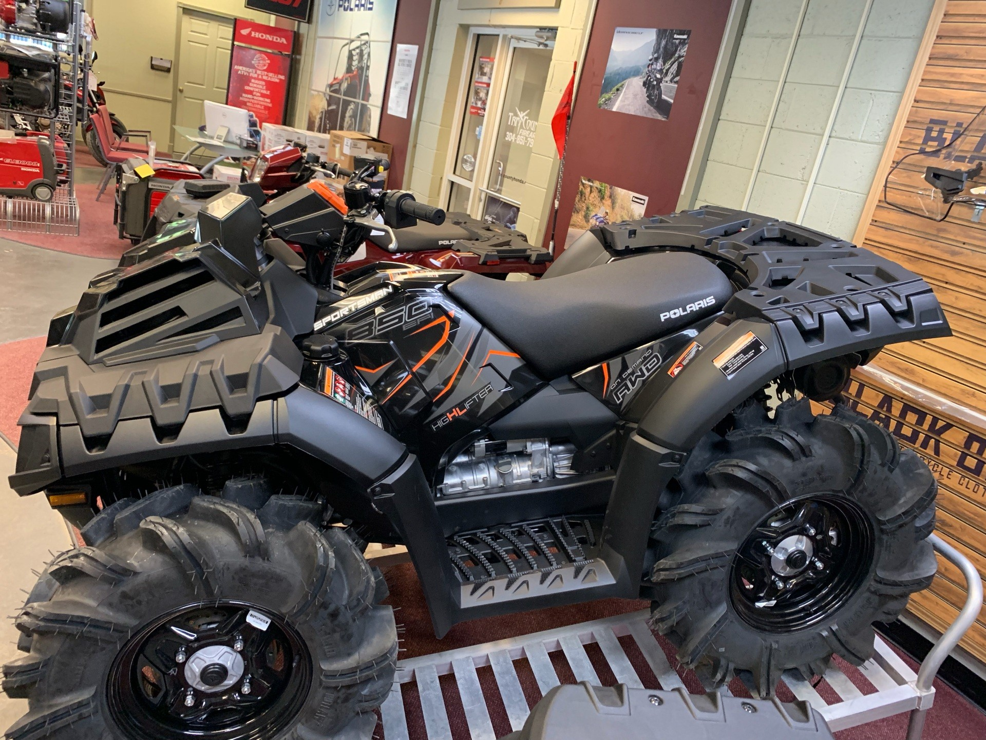 2019 Polaris Sportsman 850 High Lifter Edition in Petersburg, West Virginia - Photo 4