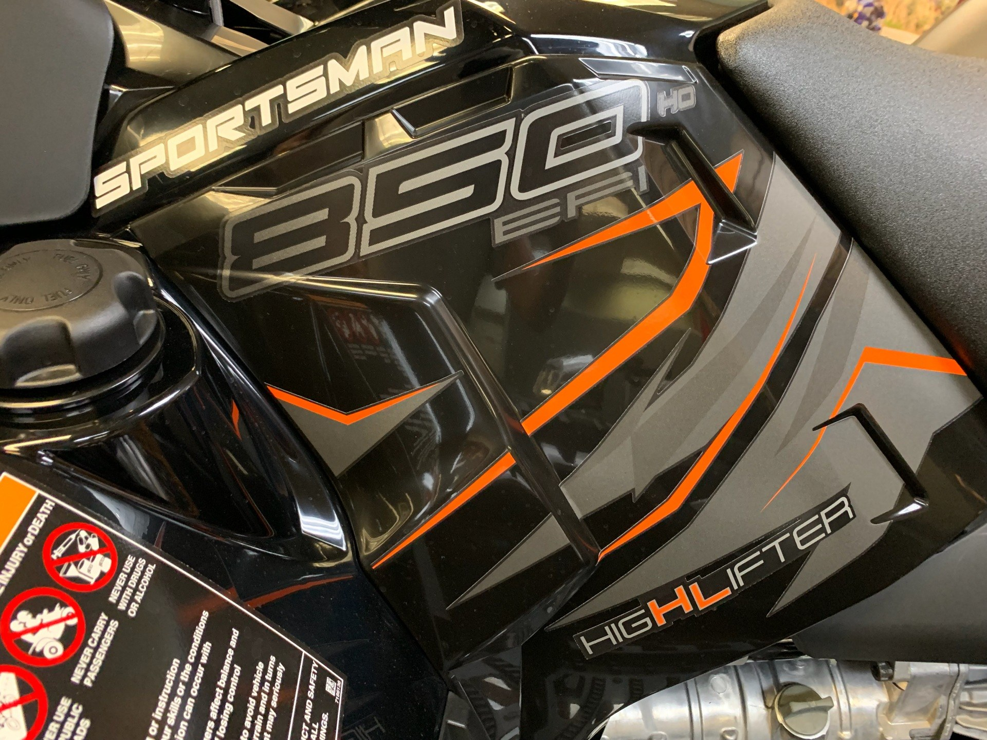 2019 Polaris Sportsman 850 High Lifter Edition in Petersburg, West Virginia - Photo 5