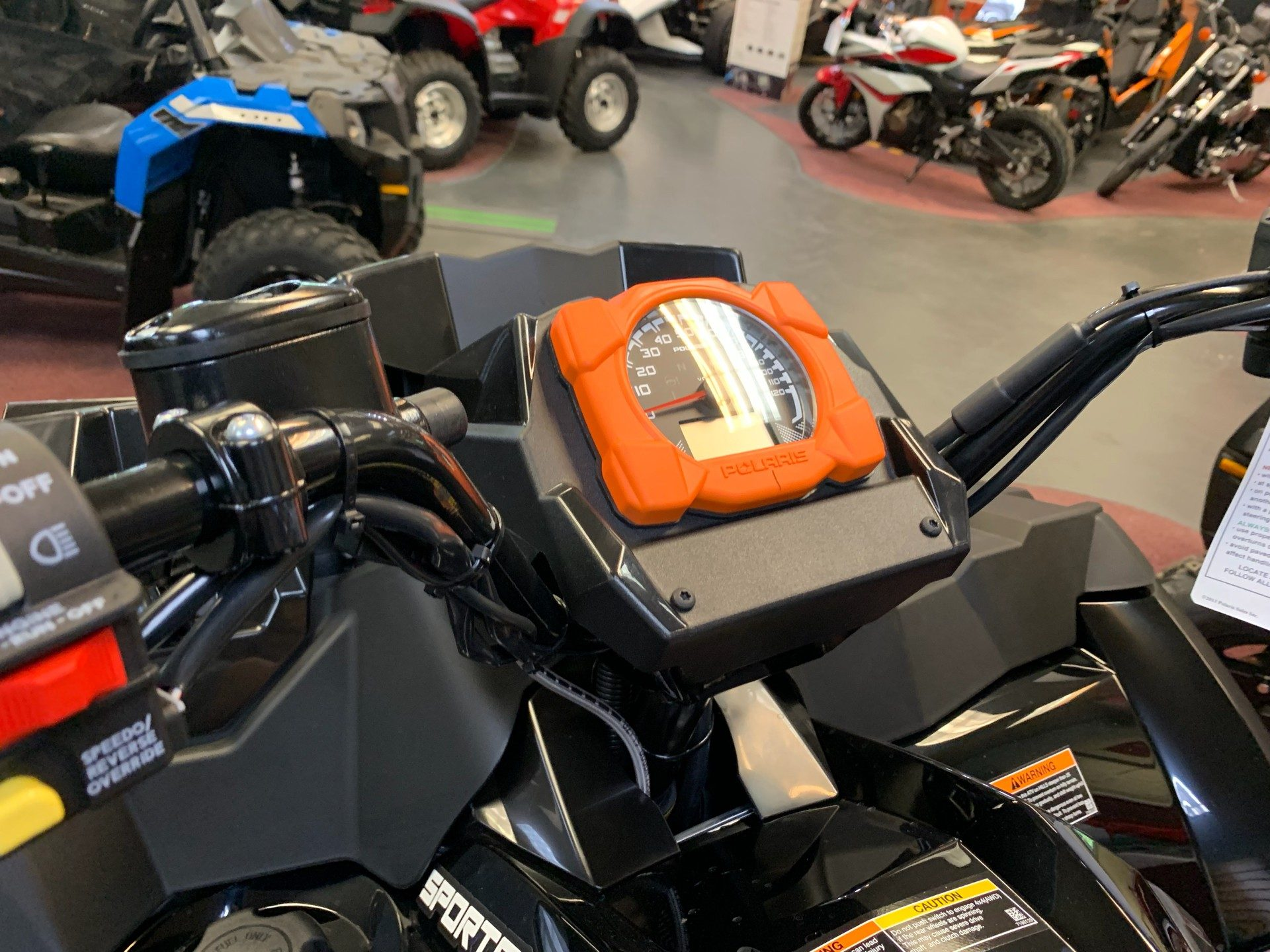 2019 Polaris Sportsman 850 High Lifter Edition in Petersburg, West Virginia - Photo 8