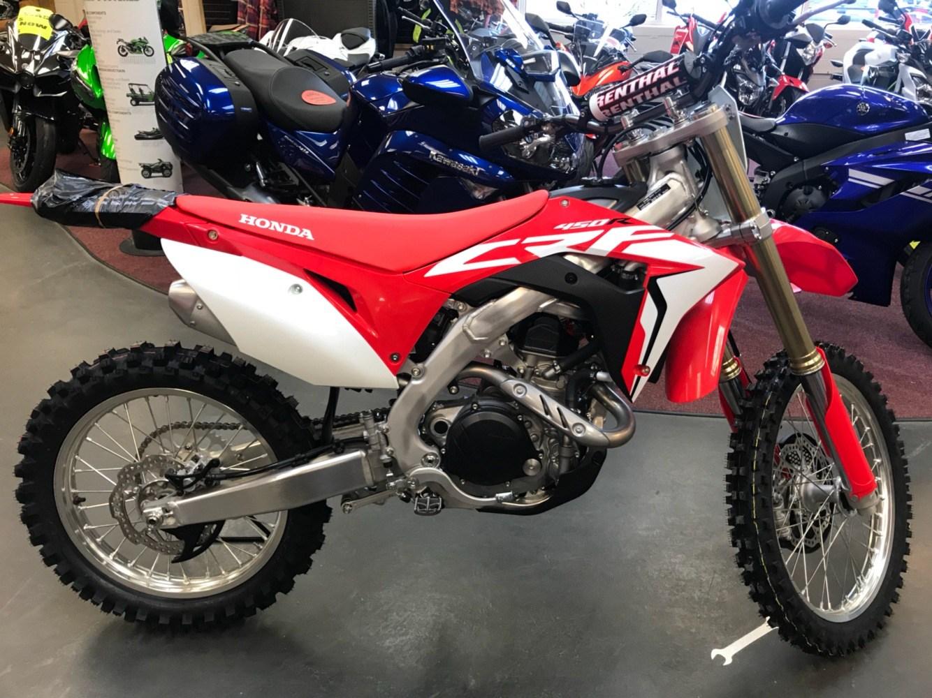 2018 Honda Crf450r Motorcycles Petersburg West Virginia
