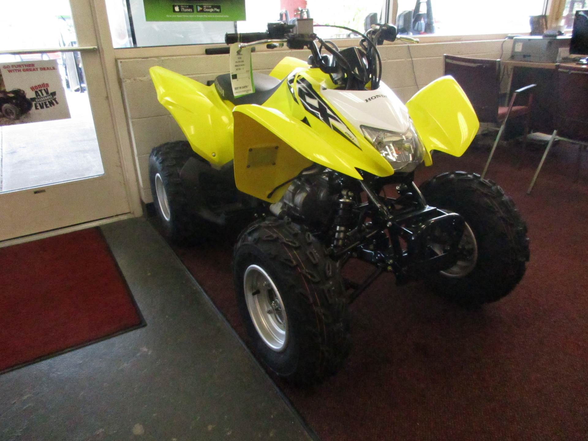 2018 Honda TRX250X in Petersburg, West Virginia