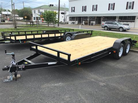 2019 Carry-On Trailers 7x18 dove tail in Petersburg, West Virginia