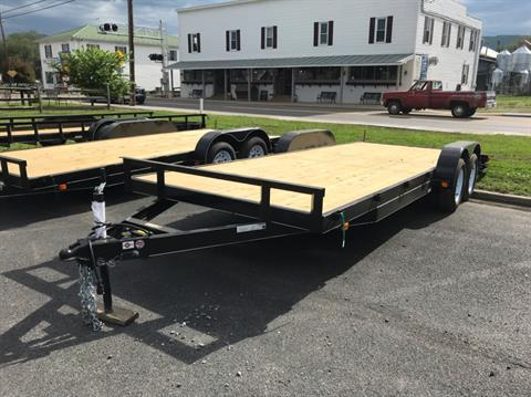 2019 Carry-On Trailers 7x20 dove tail in Petersburg, West Virginia