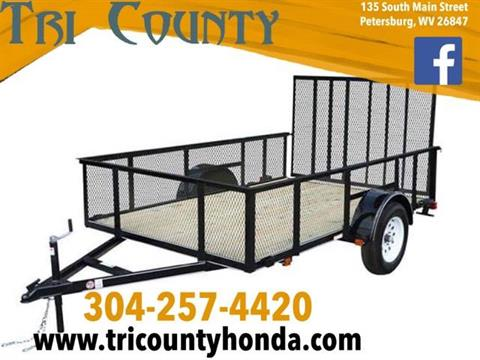 2019 Carry-On Trailers 5X8GWHS in Petersburg, West Virginia