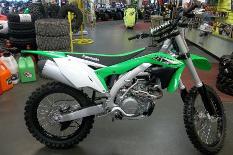 2017 Kawasaki KX450F in Petersburg, West Virginia
