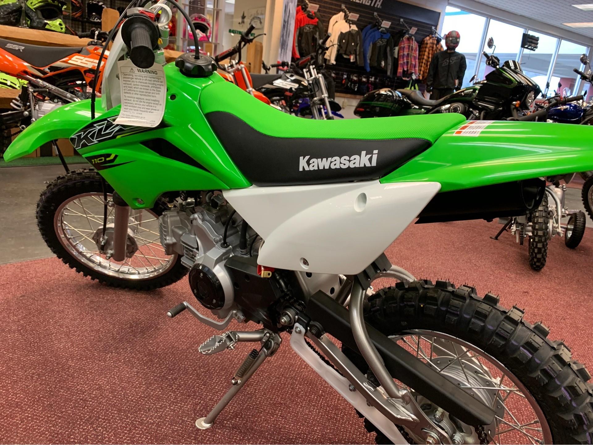 2019 Kawasaki KLX 110 in Petersburg, West Virginia
