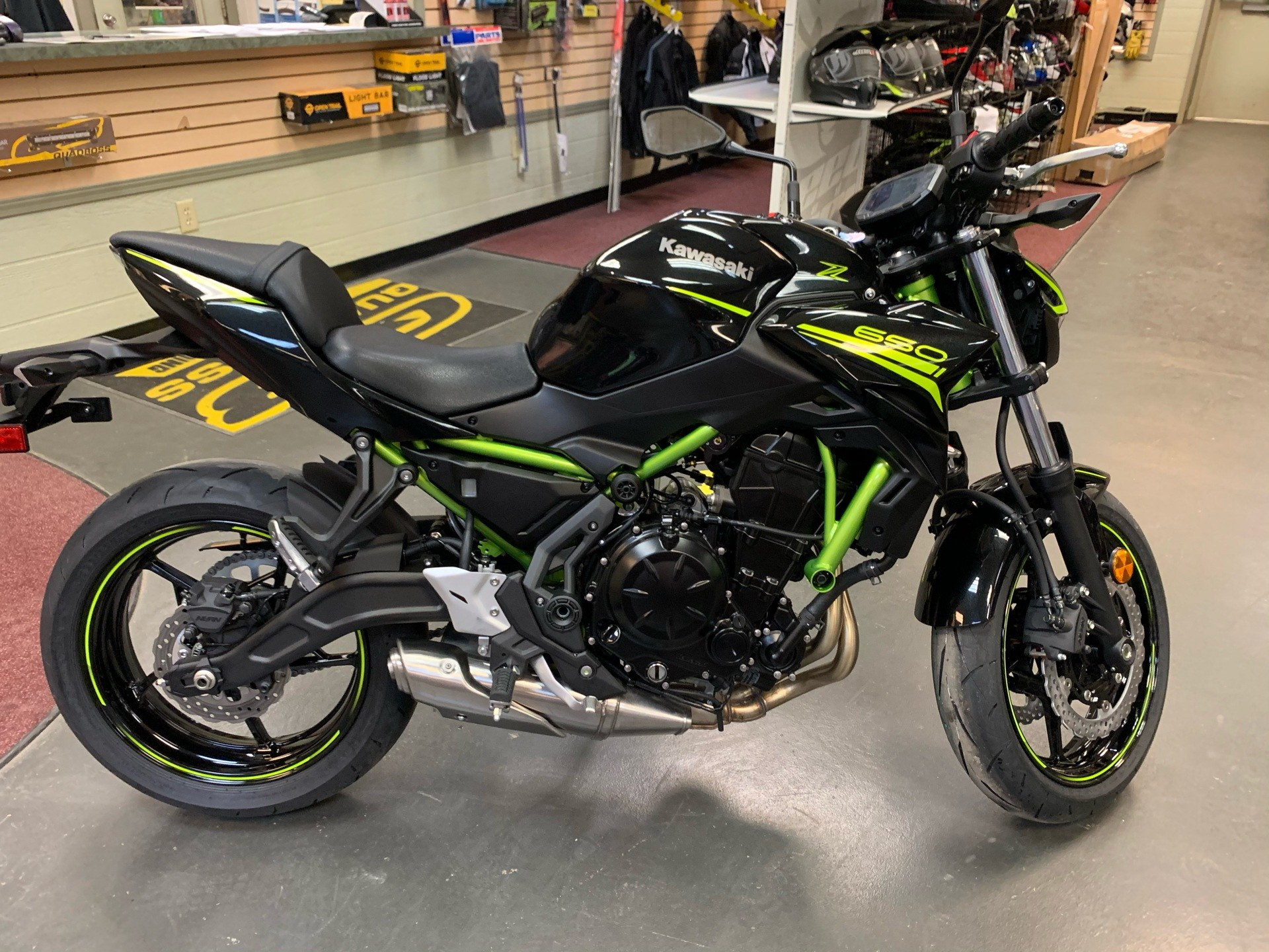 2020 Kawasaki Z650 in Petersburg, West Virginia - Photo 1