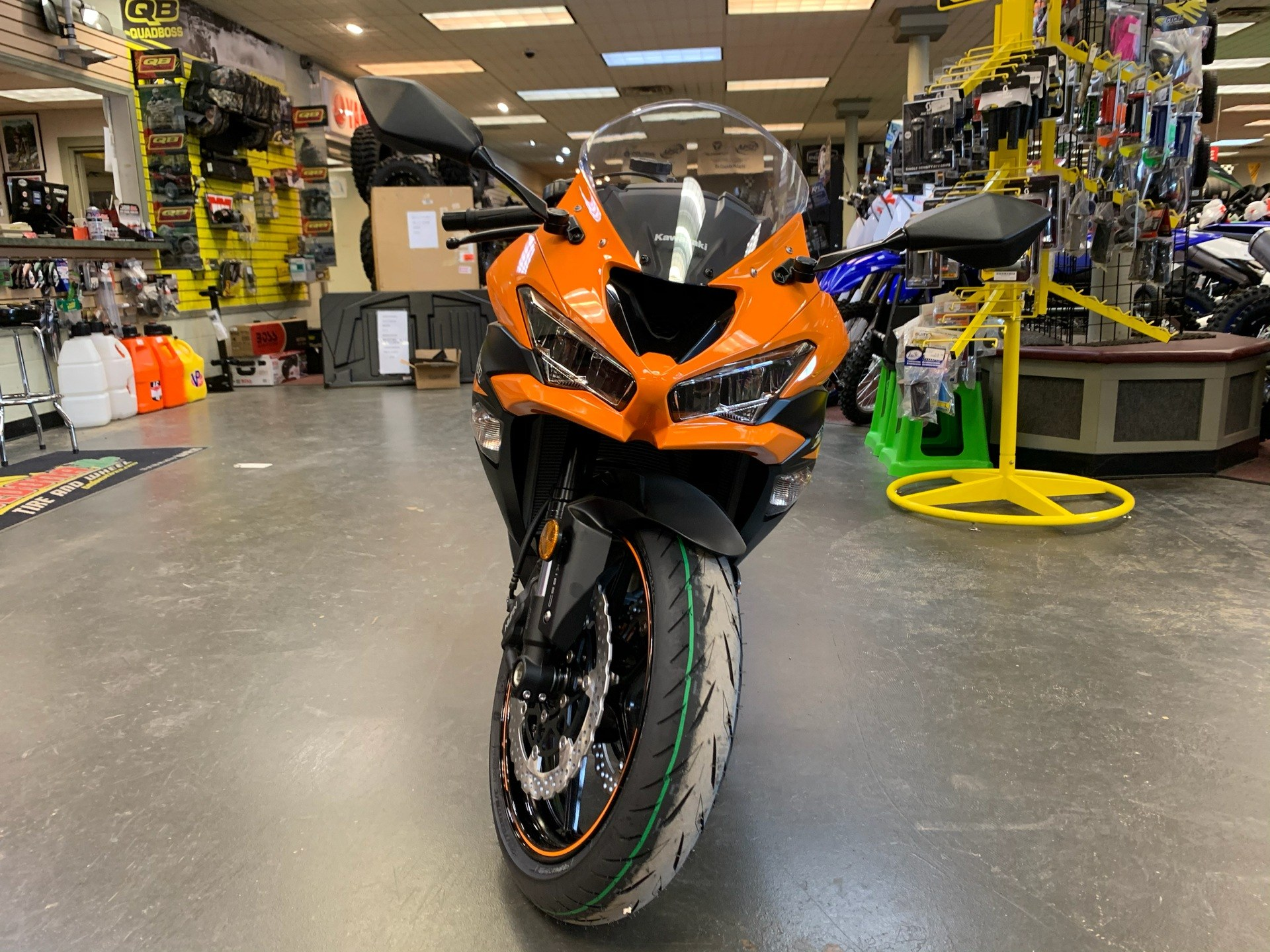 2020 Kawasaki Ninja ZX-6R ABS in Petersburg, West Virginia - Photo 4