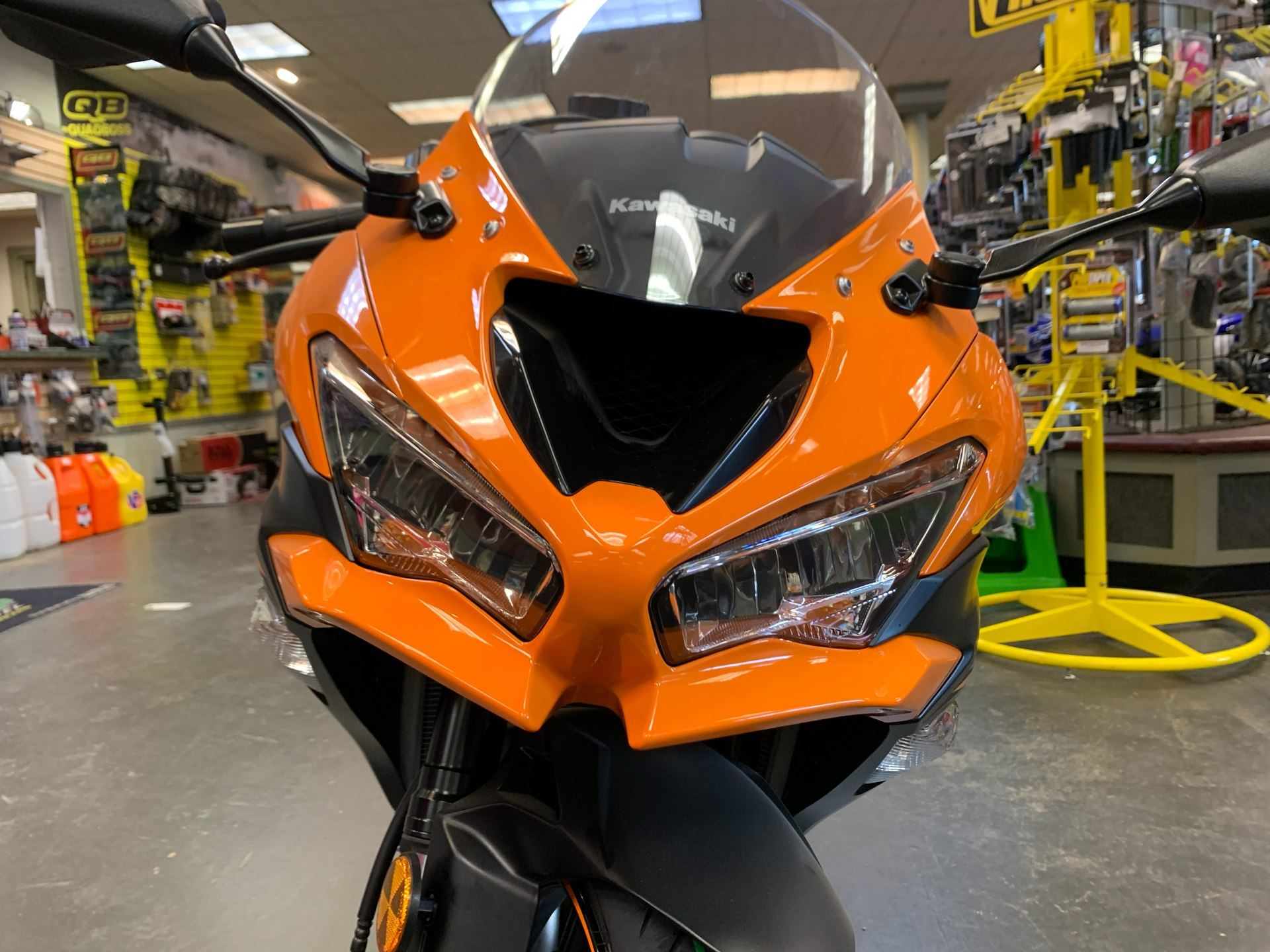 2020 Kawasaki Ninja ZX-6R ABS in Petersburg, West Virginia - Photo 9