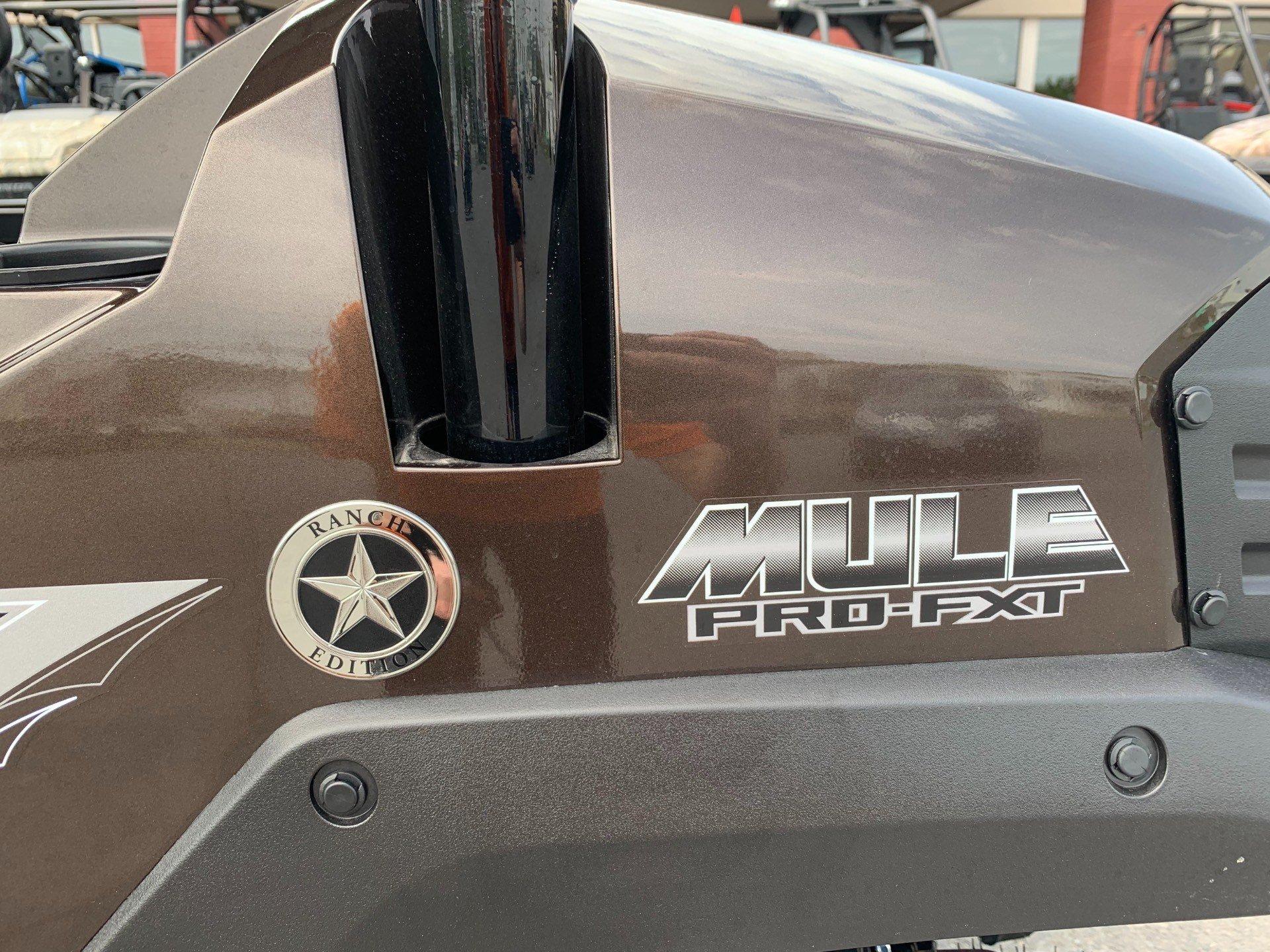 2019 Kawasaki Mule PRO-FXT Ranch Edition 5